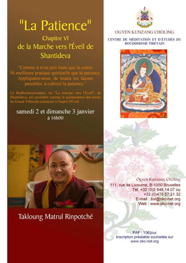 MATRUL Rinpoché à Bruxelles Janvier 2016 Matrul11