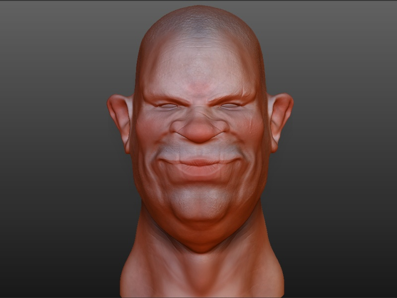 Toujours plus loin avex zbrush - Page 2 Visage10