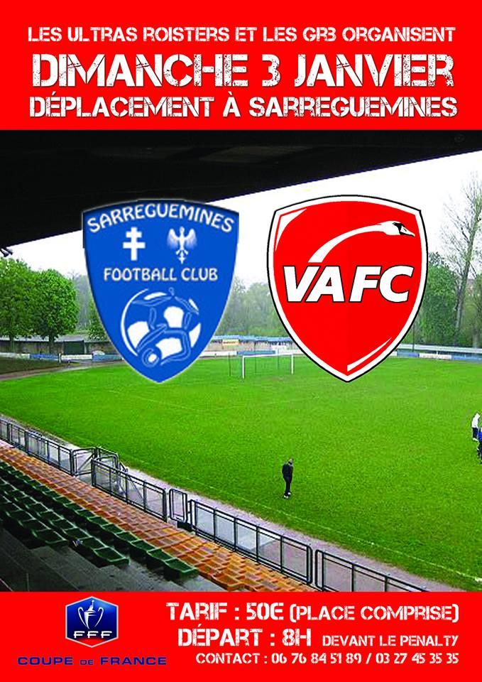 SARREGUEMINES/VAFC : 32EME DE FINALE DE COUPE DE FRANCE 12376411