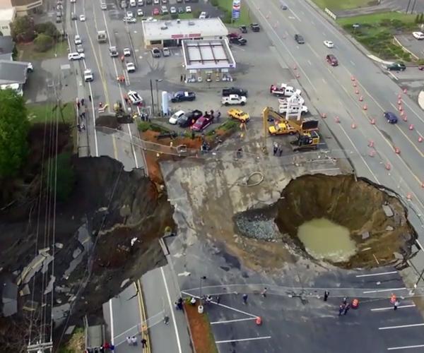 Un trou géant dans l'Oregon C8aca410