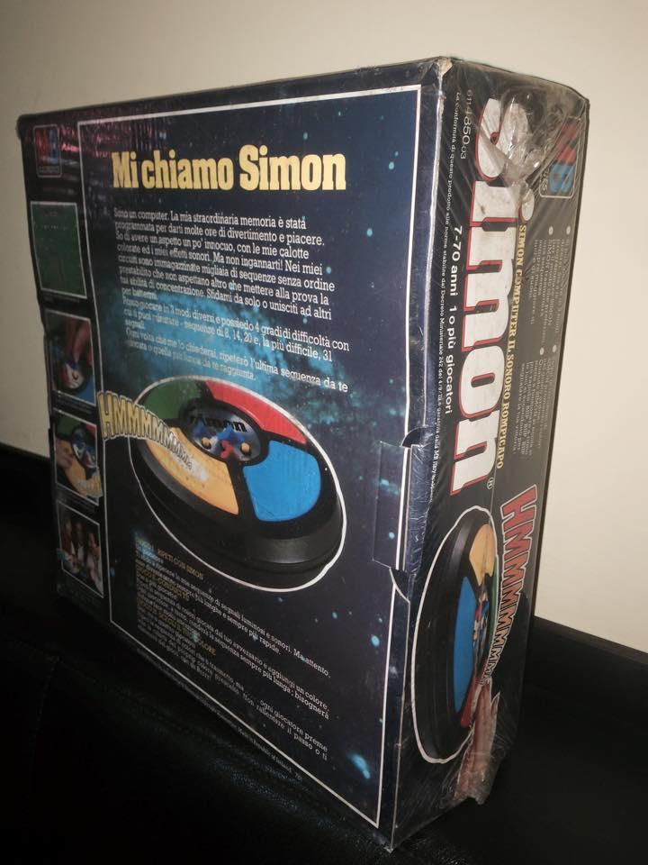 VINTAGE Simon GIOCO NUOVO ULTRA RARO ! MB Giochi retro' 70/80 epoca Goldrake 10428410