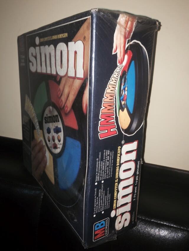 VINTAGE Simon GIOCO NUOVO ULTRA RARO ! MB Giochi retro' 70/80 epoca Goldrake 11234910