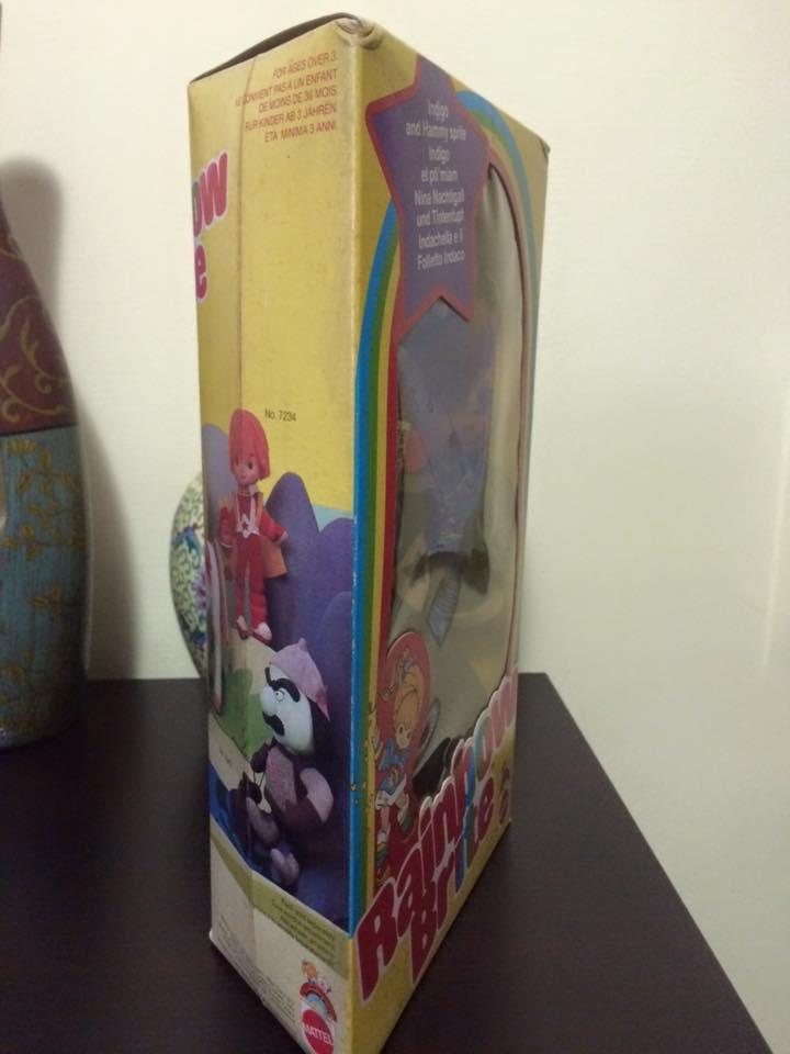 Iridella Rainbow Brite INDIGO Regina regenbogen MATTEL purple doll 80 vintage 12002010