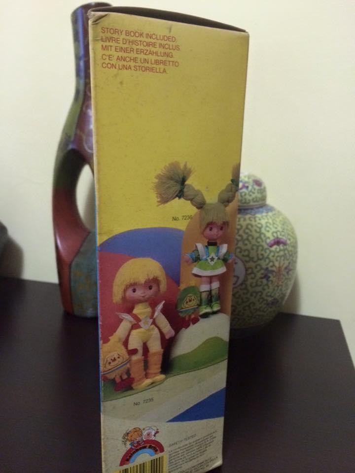 Iridella Rainbow Brite INDIGO Regina regenbogen MATTEL purple doll 80 vintage 12049210