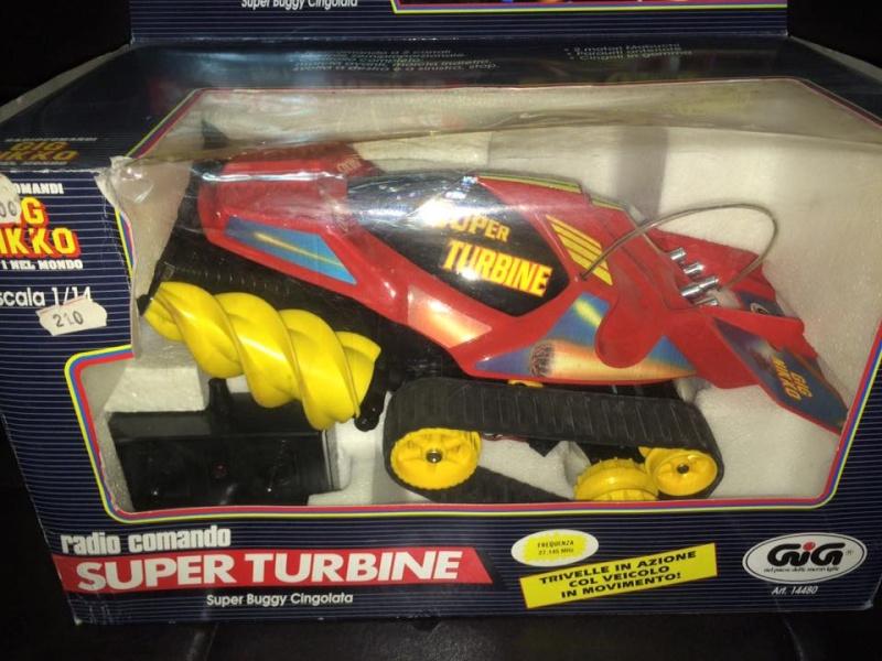 GIG NIKKO SUPER TURBINE SUPER BUGGY CINGOLATA MACHINE ANNI 80 TOYS 12065610