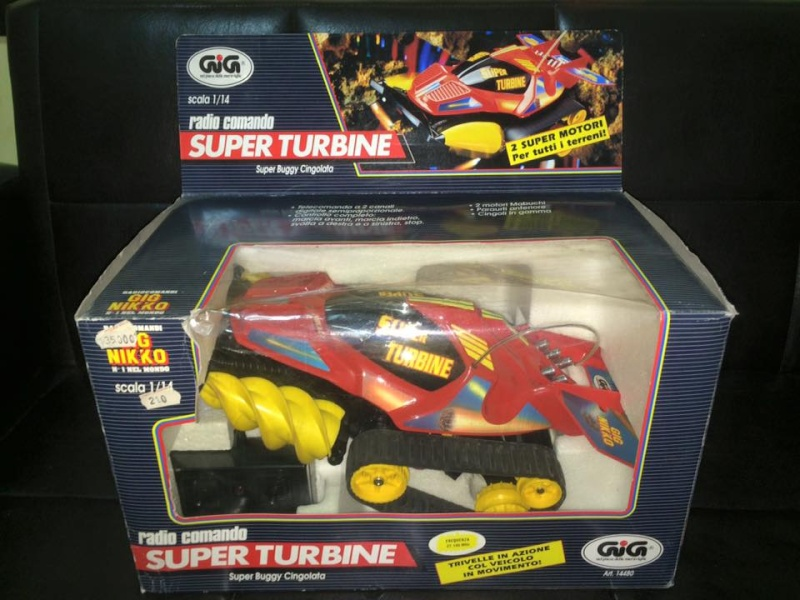 GIG NIKKO SUPER TURBINE SUPER BUGGY CINGOLATA MACHINE ANNI 80 TOYS 12112310