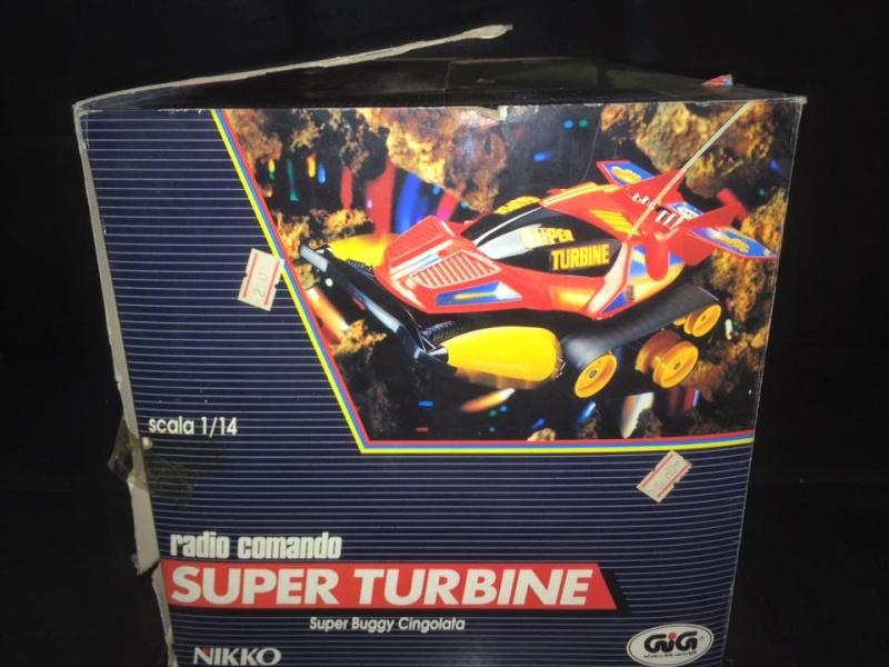 GIG NIKKO SUPER TURBINE SUPER BUGGY CINGOLATA MACHINE ANNI 80 TOYS 12118710