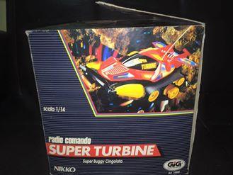 GIG NIKKO SUPER TURBINE SUPER BUGGY CINGOLATA MACHINE ANNI 80 TOYS 12119010