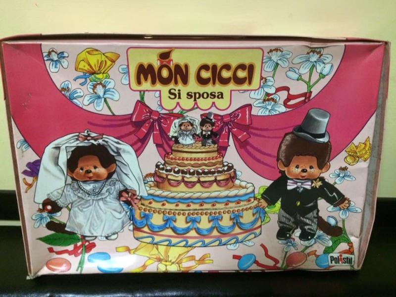 Bambola Polistil Doll Mon cicci Moncicci' Doll Kiki Coffret Mariés MIB 70 80 12122510