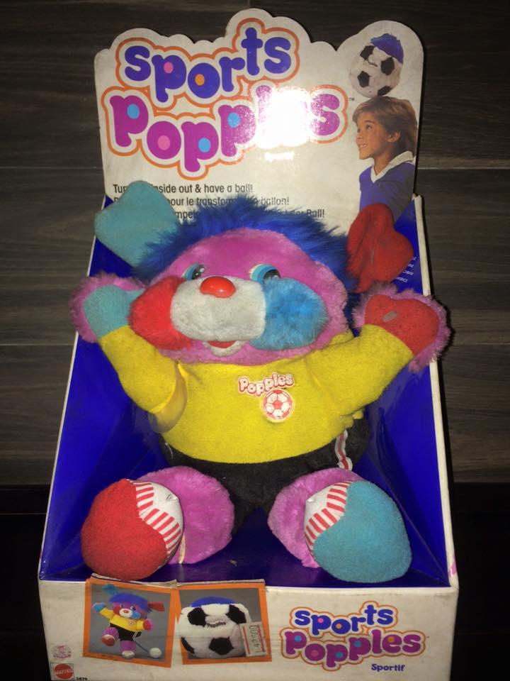 POPPLES anni 80 fondi di magazzino 8 pupazzi ROCK STAR PUNKSTER POPPLE MATTEL 12219510