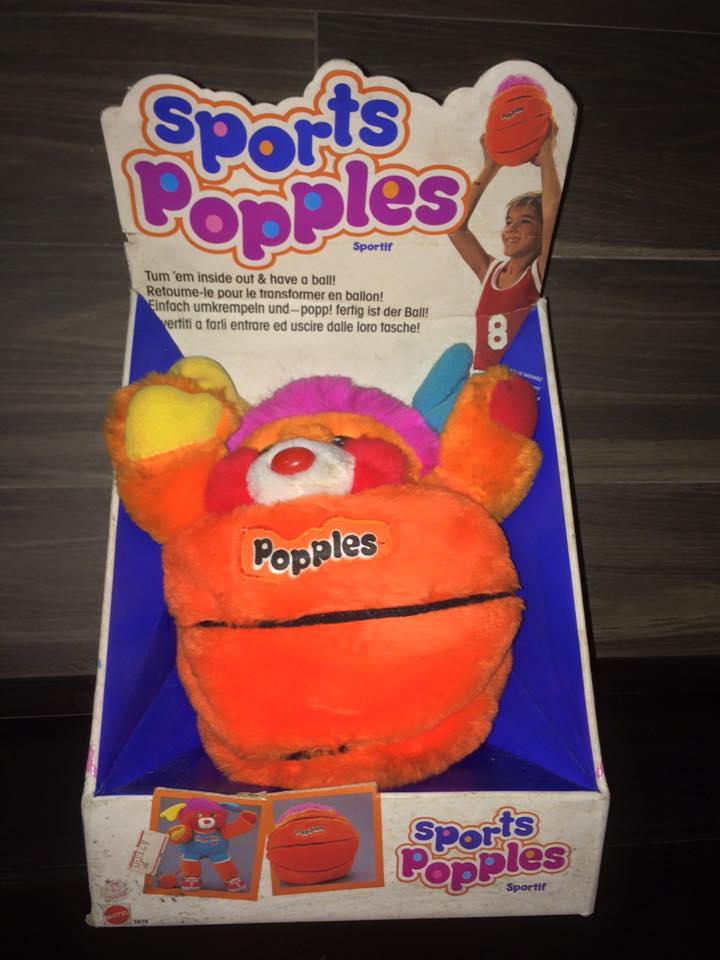 POPPLES anni 80 fondi di magazzino 8 pupazzi ROCK STAR PUNKSTER POPPLE MATTEL 12246810