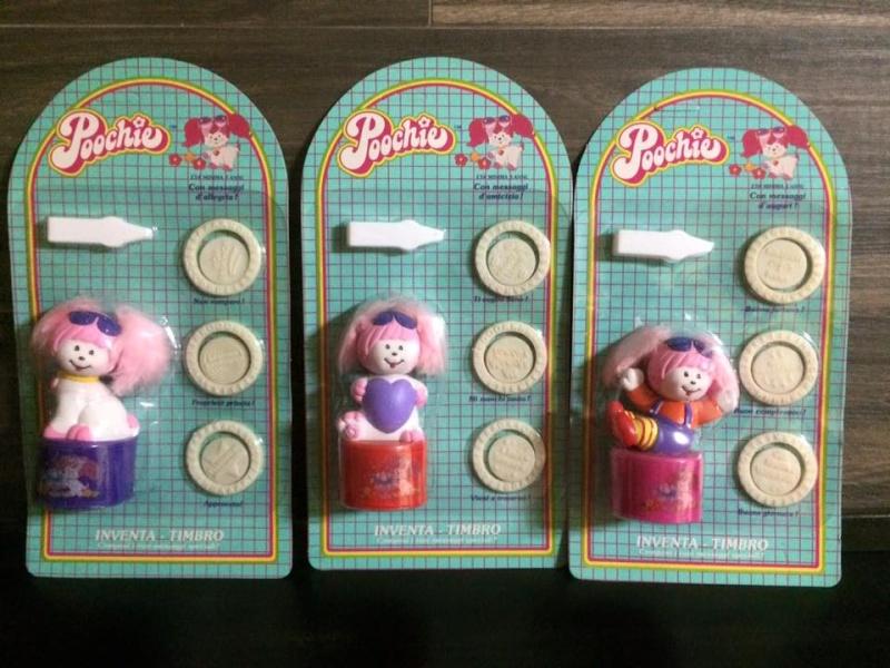 Poochie MATTEL 1986 ultime due scatola ancora sigillate dei Inventa Timbri di Poochie anno 1986 molto molto Vintage ! Disponibili ! 12246911