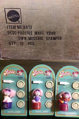 Poochie MATTEL 1986 ultime due scatola ancora sigillate dei Inventa Timbri di Poochie anno 1986 molto molto Vintage ! Disponibili ! 12310410