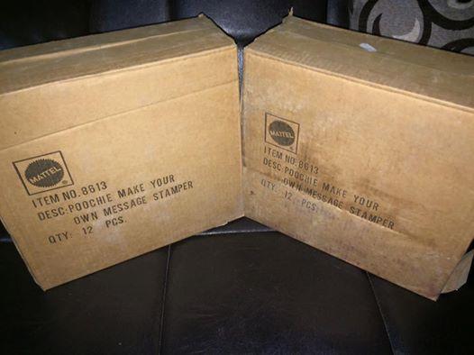 Poochie MATTEL 1986 ultime due scatola ancora sigillate dei Inventa Timbri di Poochie anno 1986 molto molto Vintage ! Disponibili ! 12313710