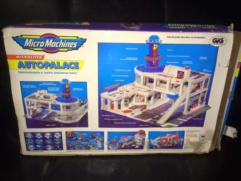 MICRO MACHINES MICROMACHINES AUTOPALACE CONCESSIONARIA TOY VINTAGE ANNI 90 GIG 12316612