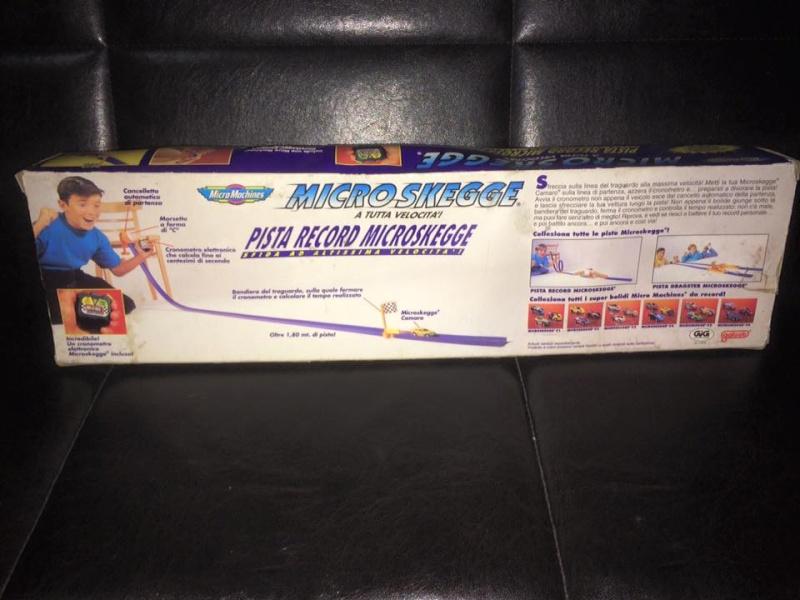 MICRO MACHINES MICROMACHINES MICRO SKEGGE PISTA RECORD TOY VINTAGE ANNI 90 GIG 12342510
