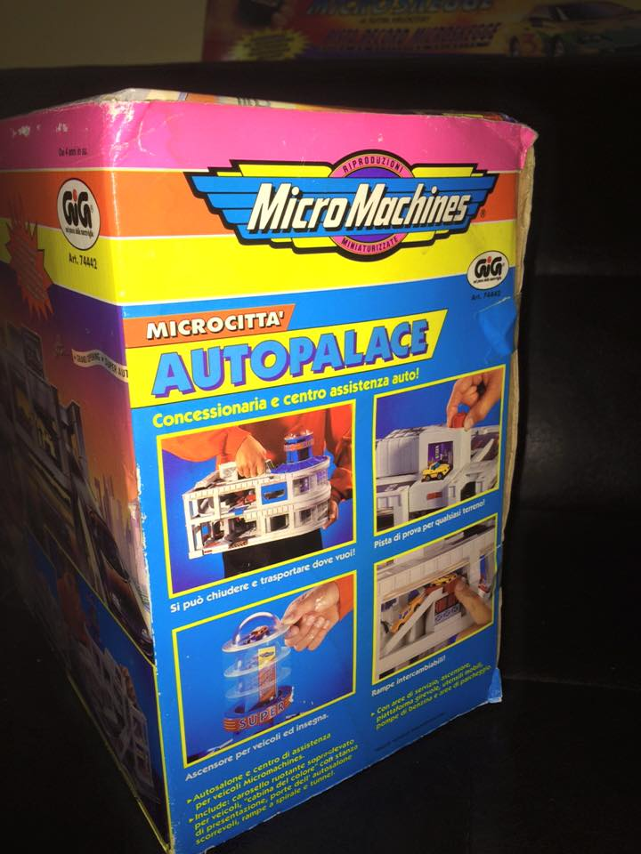 MICRO MACHINES MICROMACHINES AUTOPALACE CONCESSIONARIA TOY VINTAGE ANNI 90 GIG 12345410