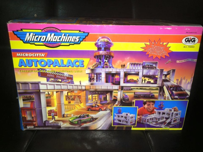 MICRO MACHINES MICROMACHINES AUTOPALACE CONCESSIONARIA TOY VINTAGE ANNI 90 GIG 12366410