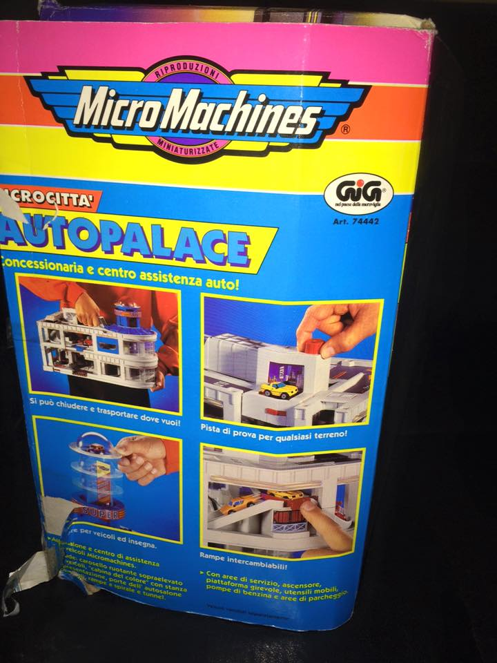 MICRO MACHINES MICROMACHINES AUTOPALACE CONCESSIONARIA TOY VINTAGE ANNI 90 GIG 12376010