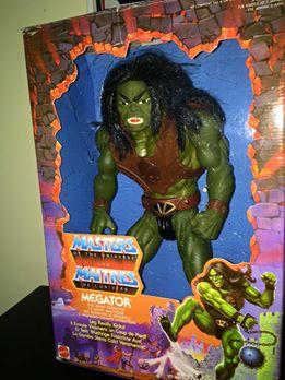 Masters Of The Universe Motu MEGATOR Eternia He man Skeletor 80 Vintage Toys Me10