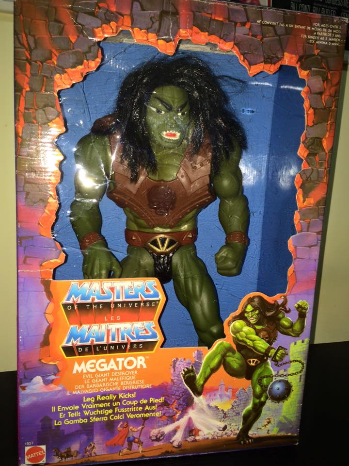 Masters Of The Universe Motu MEGATOR Eternia He man Skeletor 80 Vintage Toys Meg10