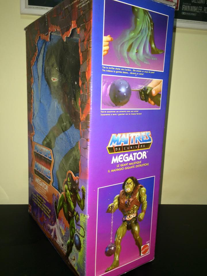 Masters Of The Universe Motu MEGATOR Eternia He man Skeletor 80 Vintage Toys Mega10
