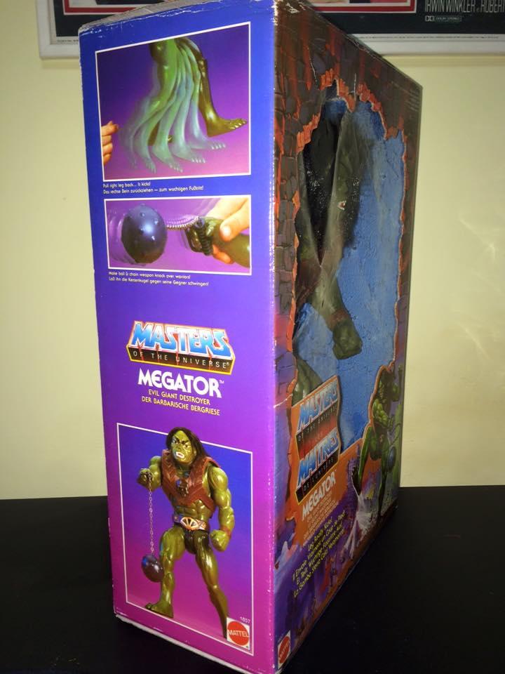 Masters Of The Universe Motu MEGATOR Eternia He man Skeletor 80 Vintage Toys Megat10