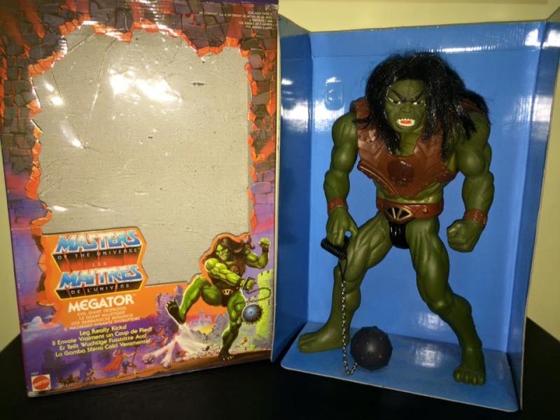 Masters Of The Universe Motu MEGATOR Eternia He man Skeletor 80 Vintage Toys Megato11