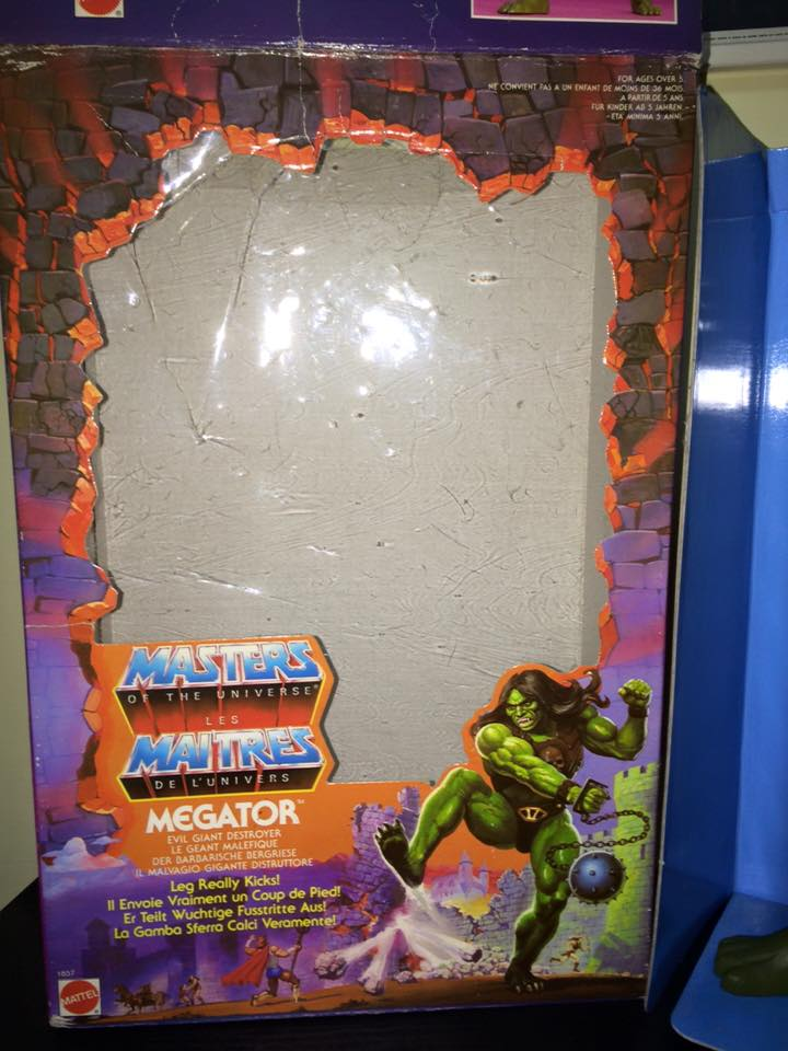 Masters Of The Universe Motu MEGATOR Eternia He man Skeletor 80 Vintage Toys Megato12