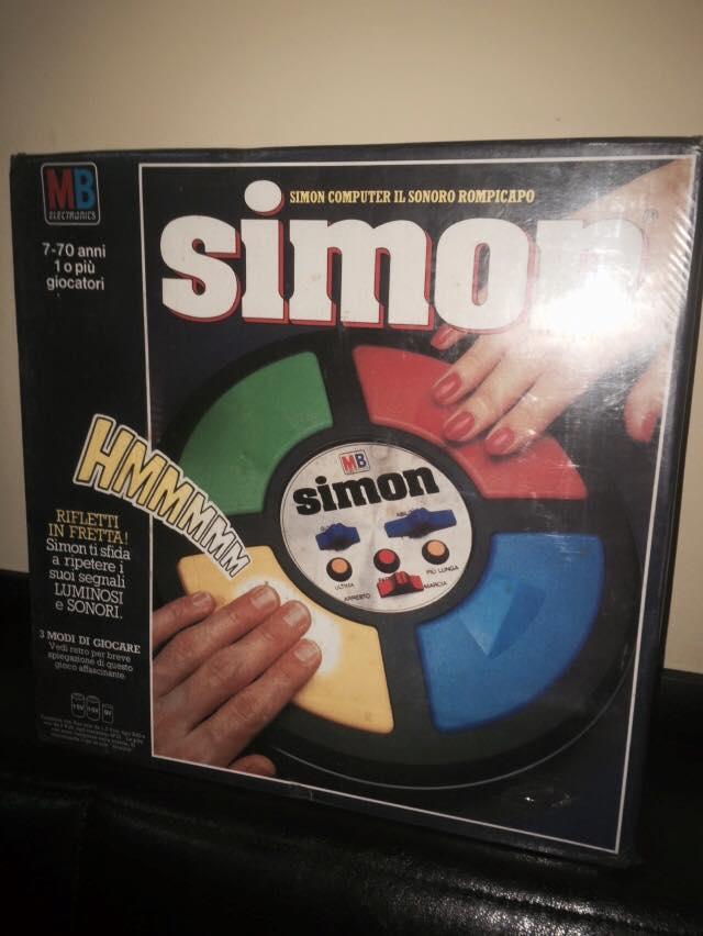 VINTAGE Simon GIOCO NUOVO ULTRA RARO ! MB Giochi retro' 70/80 epoca Goldrake Si10
