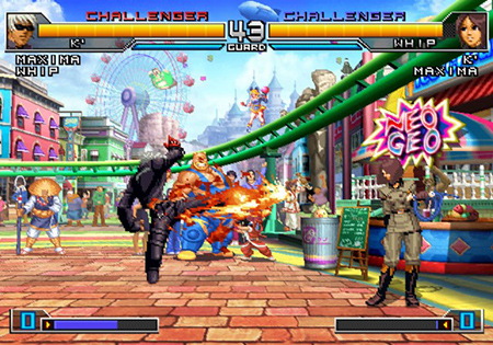 The King of Fighters 2002 Unlimited Match sur Ps2 49368d10