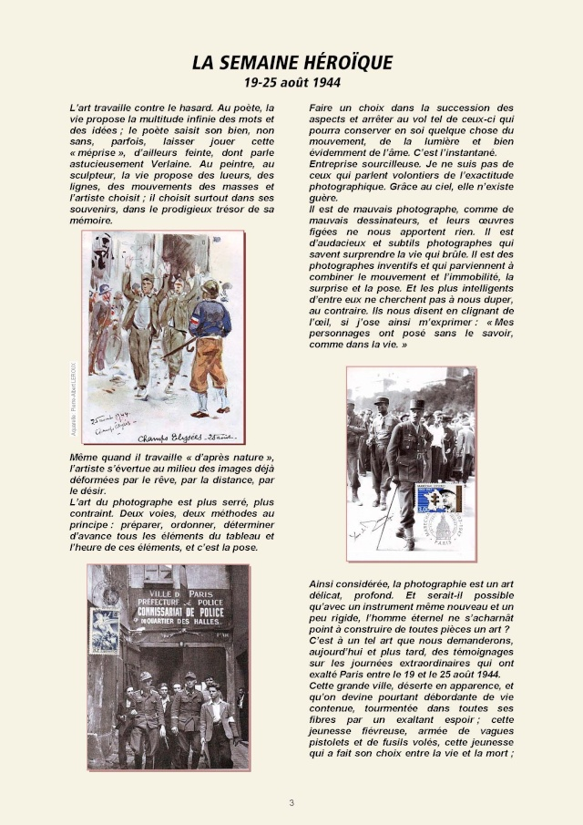 LA REVUE 2ème SEMESTRE 2015 n° 187 - 188 LIBERATION DE PARIS 1ère PARTIE Page_210