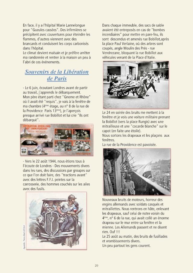 LA REVUE 2ème SEMESTRE 2015 n° 187 - 188 LIBERATION DE PARIS 1ère PARTIE Page_510