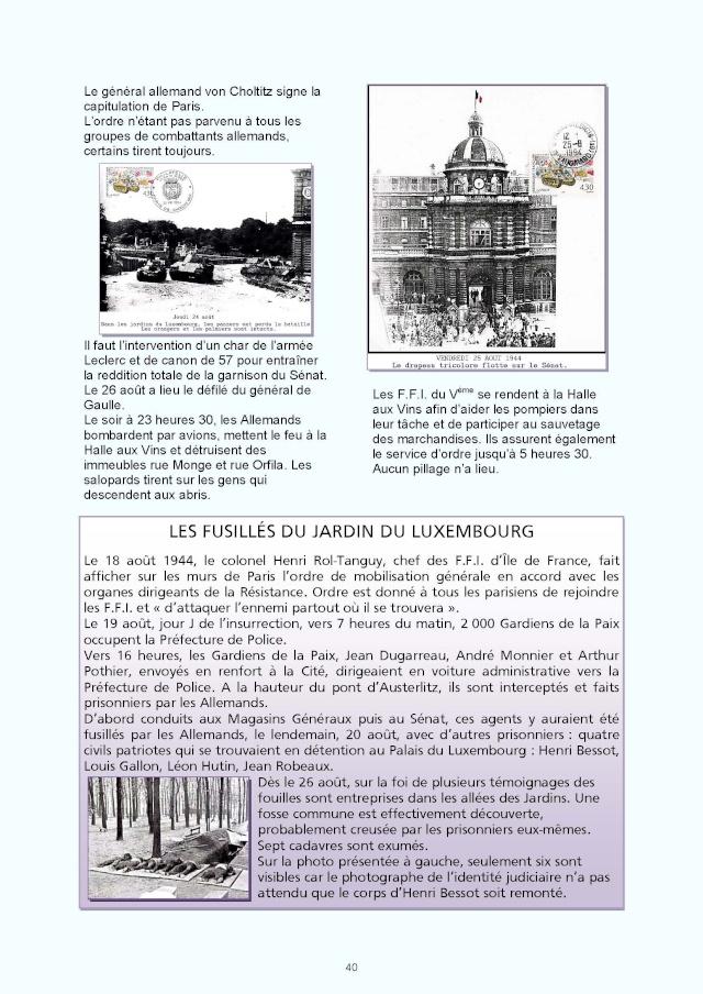 LA REVUE 2ème SEMESTRE 2015 n° 187 - 188 LIBERATION DE PARIS 1ère PARTIE Page_710