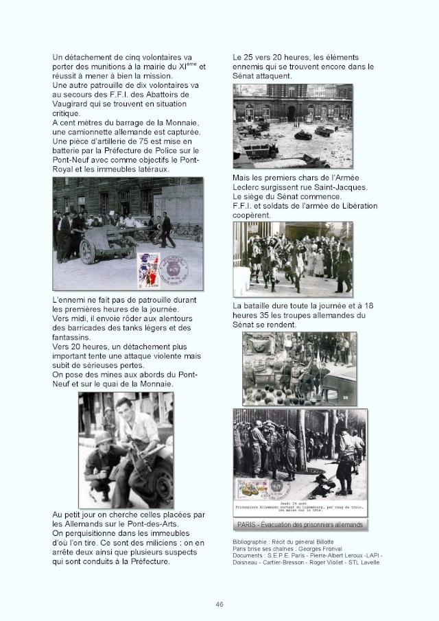 LA REVUE 2ème SEMESTRE 2015 n° 187 - 188 LIBERATION DE PARIS 1ère PARTIE Page_810