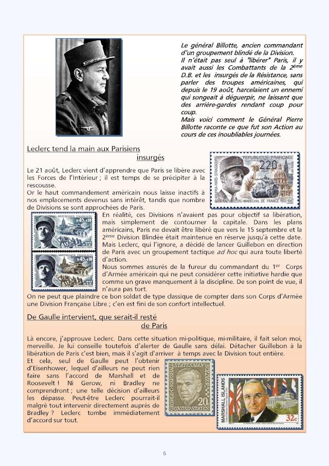 LA REVUE 2ème SEMESTRE 2015 n° 187 - 188 LIBERATION DE PARIS 1ère PARTIE Pages_10