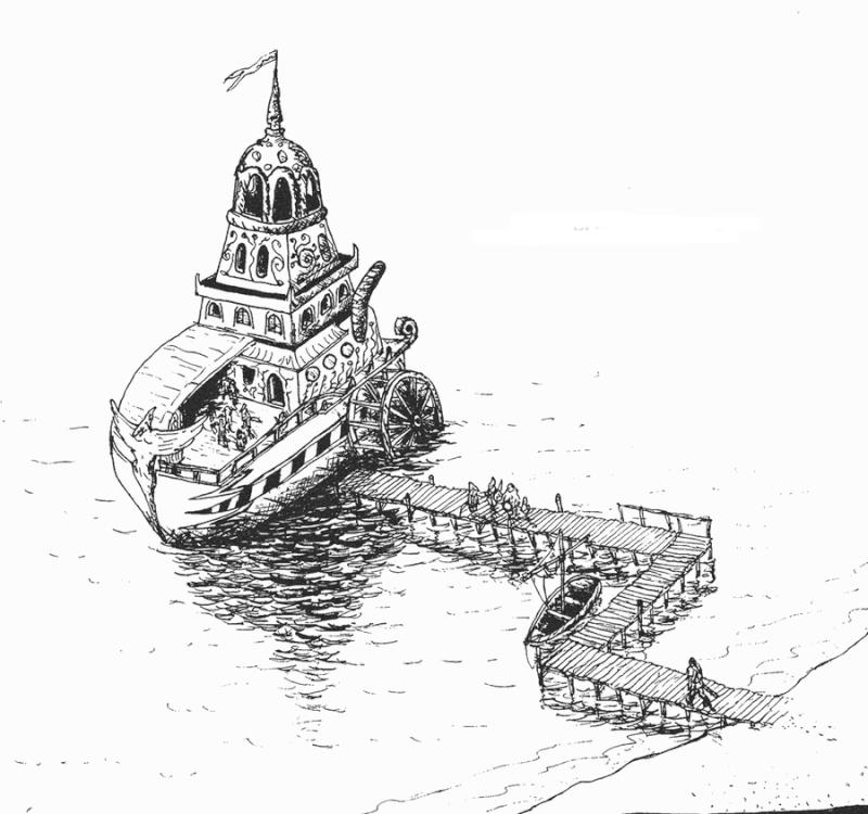 Le trésor de Vertecrête Bateau10