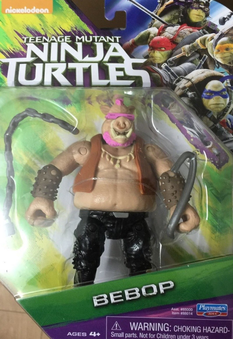 TEENAGE MUTANT NINJA TURTLES MOVIE (Playmates) 2014 1010