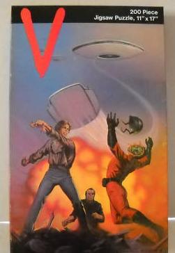 V Les Visiteurs (LJN) 1984 V_1110