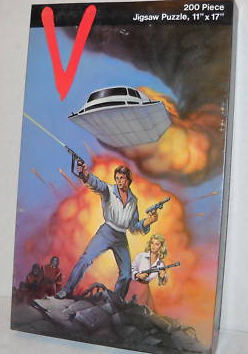 V Les Visiteurs (LJN) 1984 V_1210