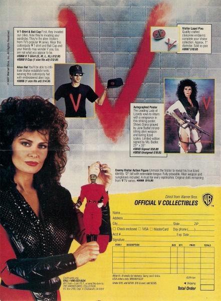 V Les Visiteurs (LJN) 1984 V_2410