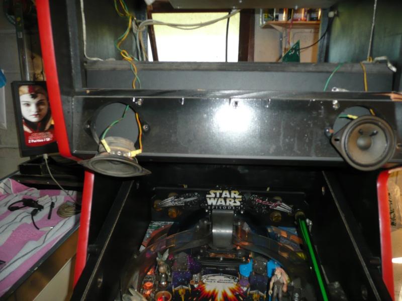 Pinball 2000 - Remplacement Carte Son/Amplificateur  P1150111