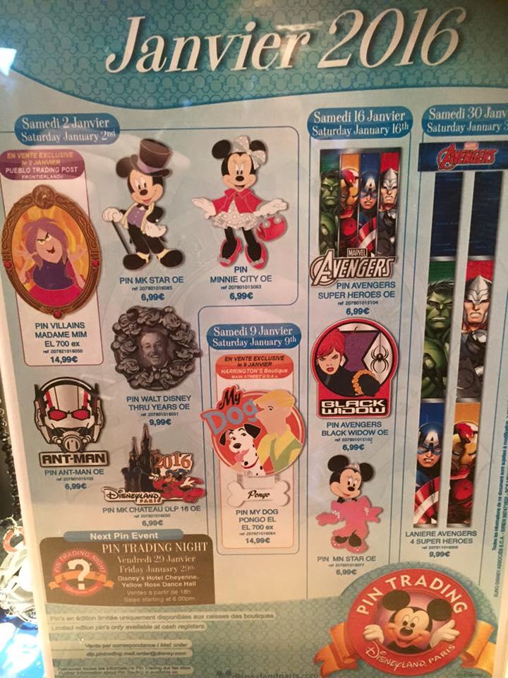 Le Pin Trading à Disneyland Paris 10441110