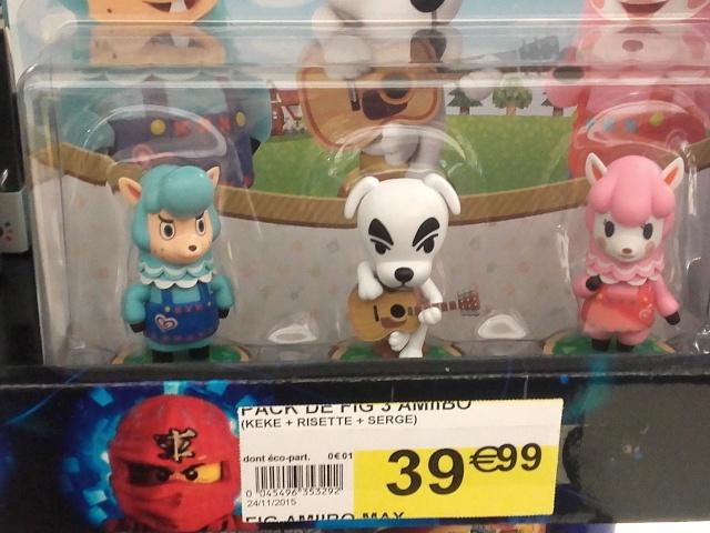 Figurines Amiibo 20151211