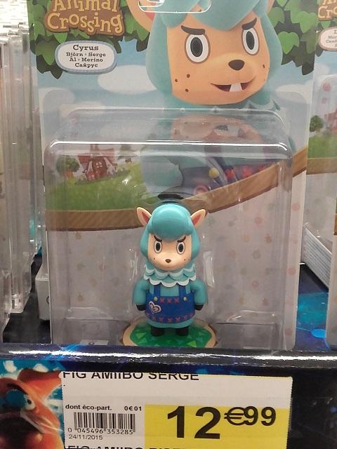 Figurines Amiibo 20151213