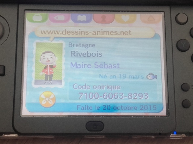 Animal crossing sur DS - Page 2 20151221