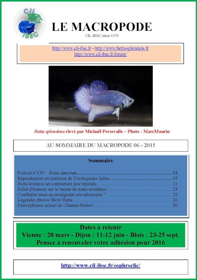 Sommaires revue du Macropode. - Page 2 2015-010