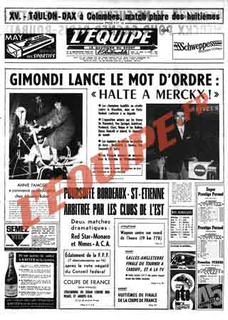 """La """"une"""" de votre naissance! Eqp19610"""