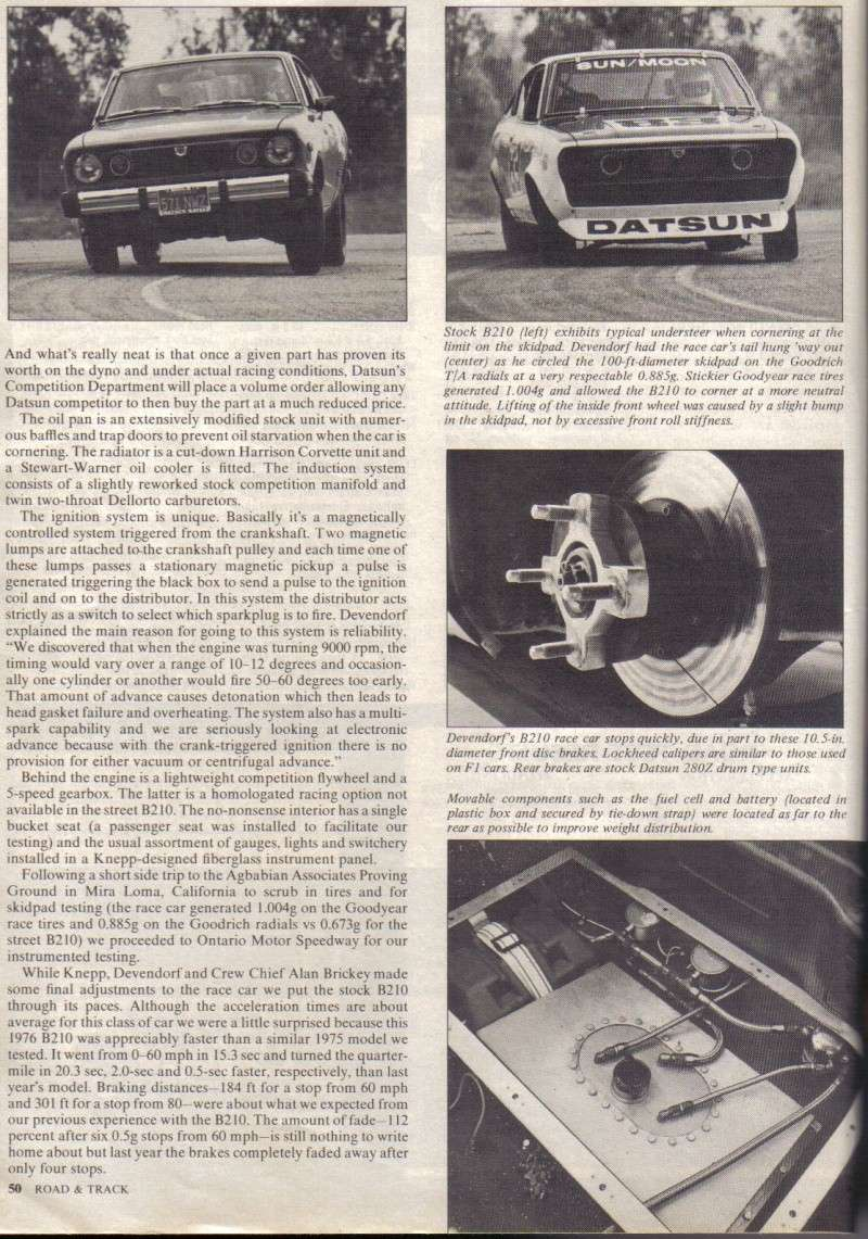 TOPIC OFFICIEL DATSUN 120Y B210 [SUNNY] - Page 2 B210_r18