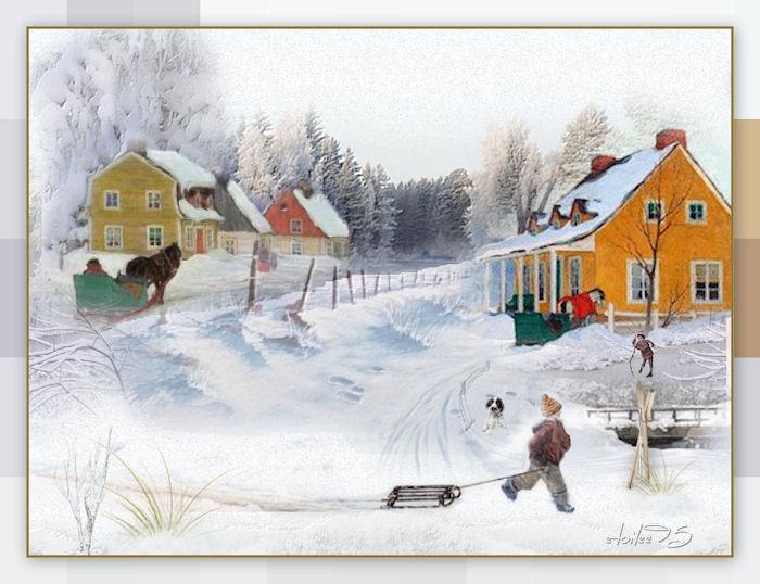 Scène d'hiver(Psp/Coups de pinceaux )  - Page 2 Image428